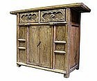 Antique Chinese Low Cabinet,  Shanxi Area.