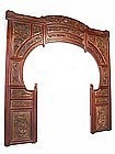 Chinese carved arch