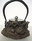 japanese antique teakettle