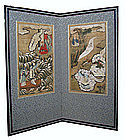 Korean Antique screen