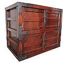 Antique Japanese Keyaki Wood Mikuni Tansu
