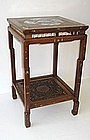 Chinese Antique Inlaid Side Table