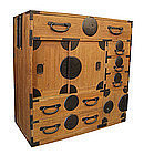 Japanese Antique Choba Tansu (merchant's chest)