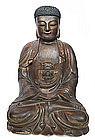Chinese Ming Dynasty Seated Buddha
