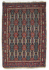 Antique Bijar Oriental Rug