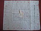 Japanese Meiji Period Fu Sui Chart