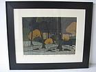 Japanese Shin Hanga Woodblock Print by Ido
