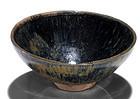Rare Song dynasty Jian hare's fur temmoku tea bowl
