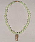 Antique Chinese Jade Necklace