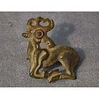 Ancient Scythians bronze fibula 6th-4th century BC