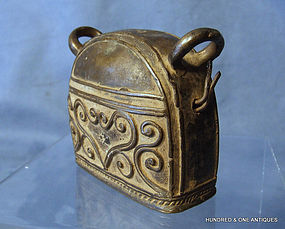 Antique Burmese Bell circa 19th century Burma