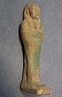 Ancient Egyptian Faience Ushabti Shabti circa 800-300 B