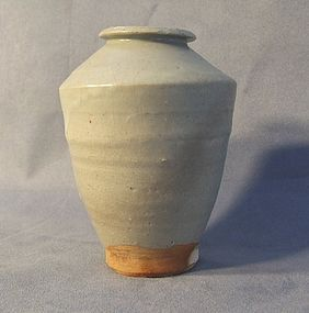 Antique Chinese Celadon Longquan Vase 14th to 15th c