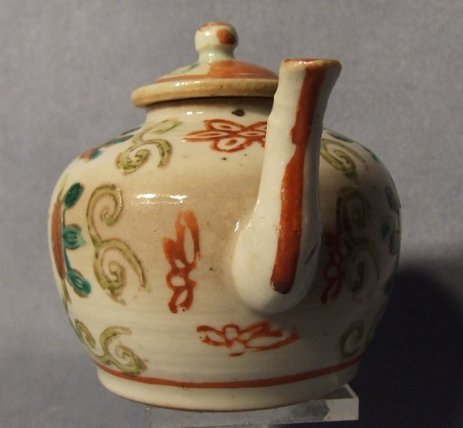 Antique Chinese Small Teapot Quing Dynasty 19th Century