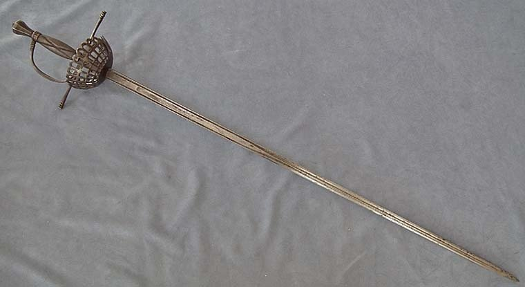 Antique over 100 years old European Sword Rapier