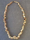 Antique Pre-Columbian Tairona shell beads necklace