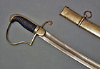 Antique American War of 1812 Light Artillery Sabre � Sword