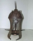 Antique Islamic Mughal India Indo Persian Helmet Kulah-Khud Armor