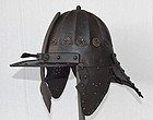 Antique Polish Hussar Szyszak Helmet Armor 17th century Poland