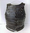 Antique Polish Hussar Breastplate Armor 16/ 17th Century Poland