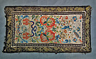 Antique Embroidery Chinese Qing Dynasty Embroidered Silk Art Panel