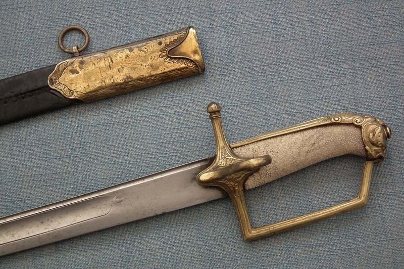 Antique 18th Century Russian Or Polish Officer Sword Sabre