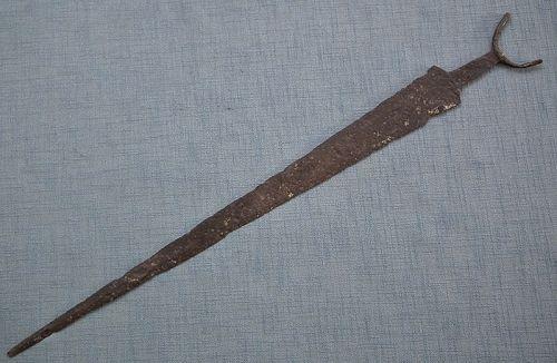 Ancient 6th - 5th century B.C. Scythian large Iron Sword Akinakes