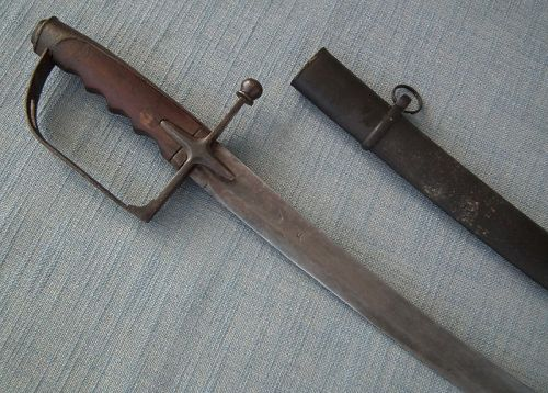 Antique 19th Century Islamic Turkish Ottoman Army Military Sword Sabre