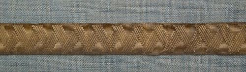 Antique 19th C Russian Imperial Army General Military Bullion Lace