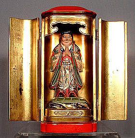 Antique Japanese Zushi, 19th Century