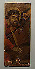 Antique 18th century European Painting of Christ