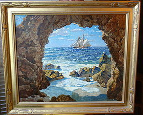 Hernando Villa Pirates Cove Laguna Beach California Art