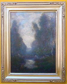 California Impressionist Landscape Jules Mersfelder