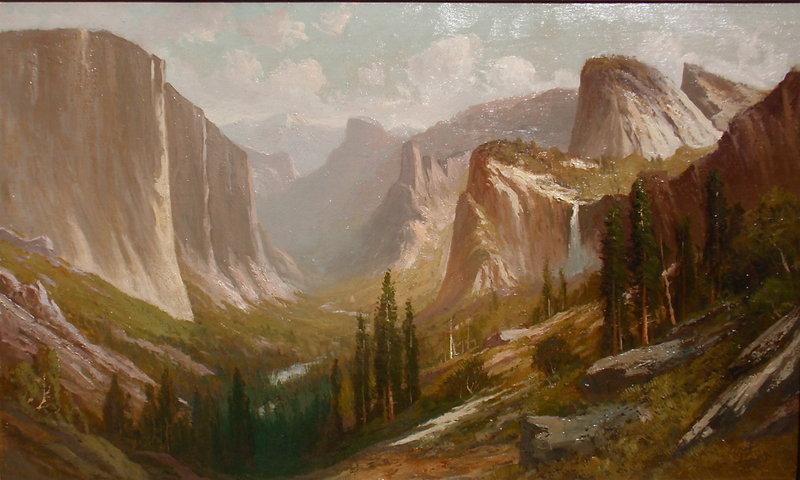Fredric Schafer Yosemite Valley Inspiration Point