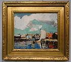 Thomas L. Hunt Impressionist Gloucester Harbor