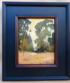 P. K. Jones California Impressionist Landscape