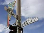 Haight Ashbury San Francisco original street signs