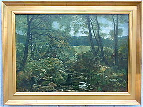 John Wright Oakes Landscape Devonshire Brook