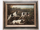 Jean Baptiste Oudry Hunting Dogs 1730 original oils