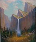 James Everett Stuart Yosemite Falls Indian camp 1914