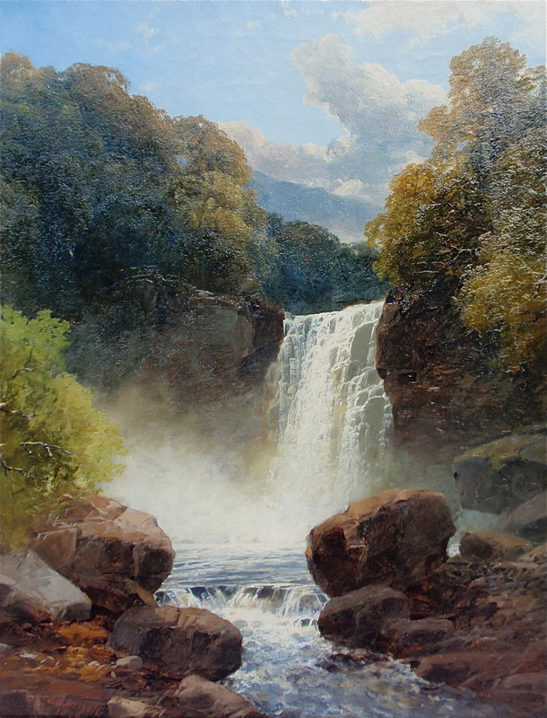 John Brandon Smith English landscape oil painting