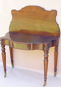 American Shearaton Games table Mass c.1810