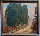 Karl Eugen Neuhaus California Impressionist painting