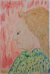 Roderic O'Conor Irish Impressionist original painting