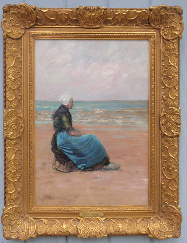 Jozef Israels Dutch Fisherman's Wife Beach Holland