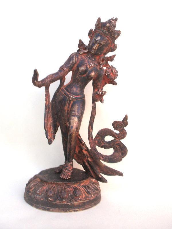 Antique Tibetan Bronze Tara Buddha Tibet