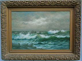 Nels Hagerup Seascape California impressionist