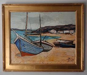 Fishing Boats Charles Levier