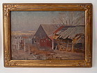 Texas Barn by Nicholas Henry Brewer