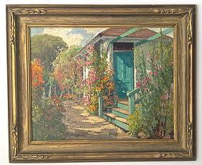 Carmel Cottage Garden By William Adam